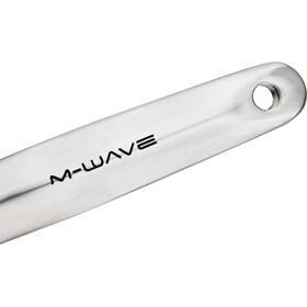 M-ighty platos y bielas 1-vel 46 dientes aluminio/acero, silver